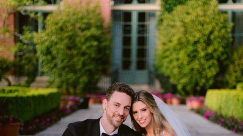 La esperada (y elegante) foto de boda de Pau Gasol y Cat McDonnell