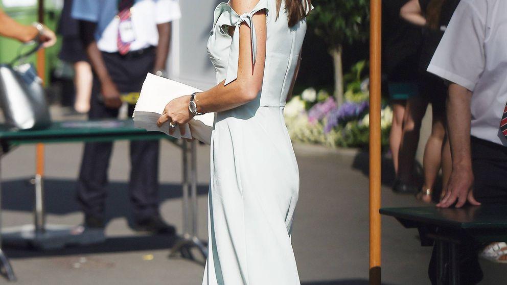 Pippa Middleton se apunta a la moda española con unos pendientes de rebajas