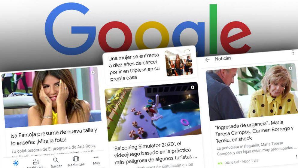 Sexo, famosos y muertes falsas: cómo Google está inundando de basura tu móvil