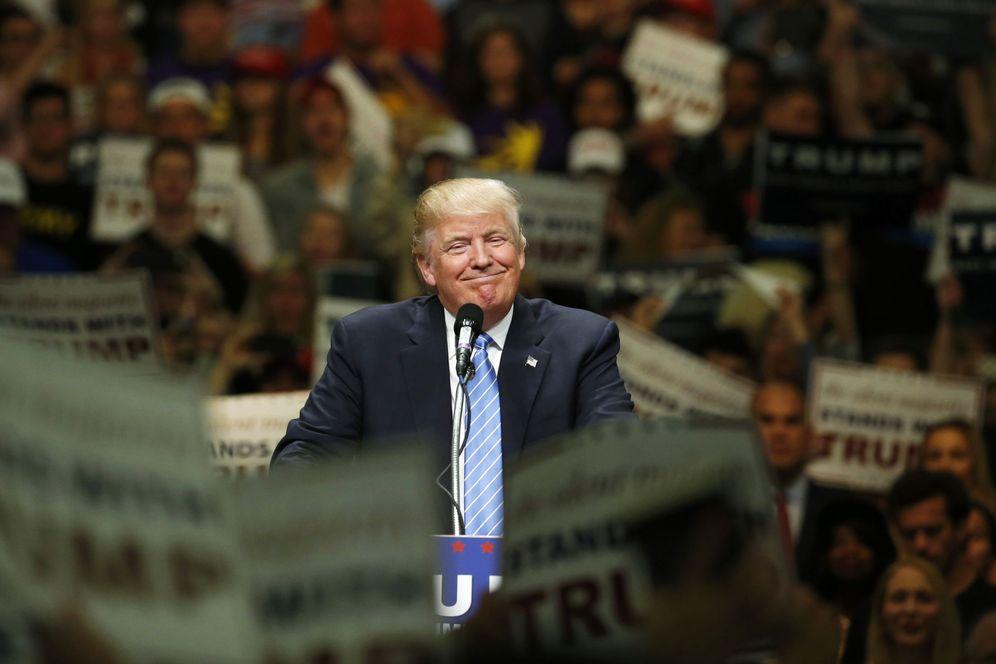 Foto: Donald Trump, durante un mitin en Anaheim, California, el 25 de mayo de 2016. (Reuters)