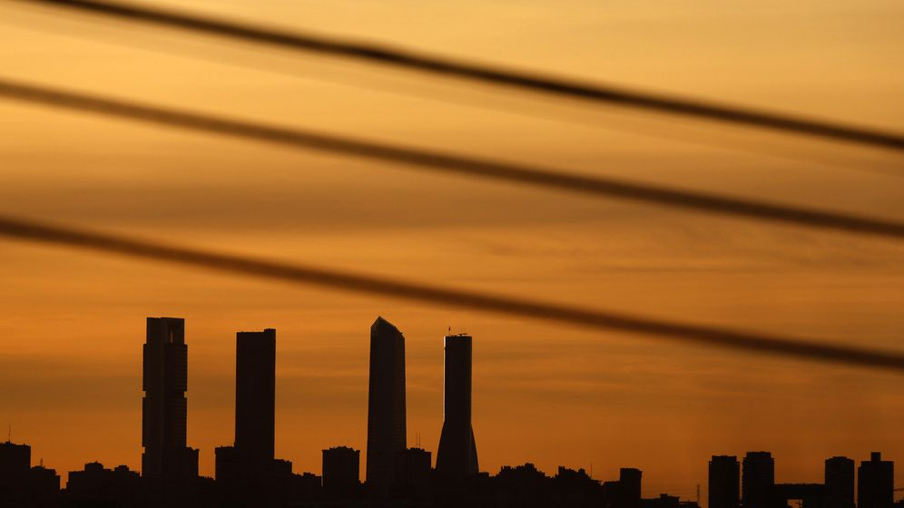 Foto: Skyline de Madrid. (Reuters)