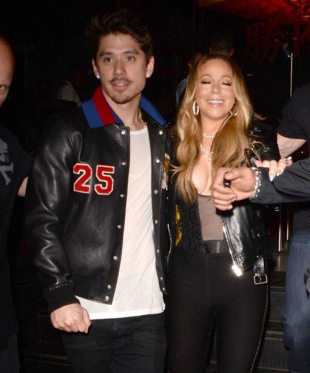 Foto: Mariah Carey y Bryan Tanaka en una imagen de archivo. (Gtres)