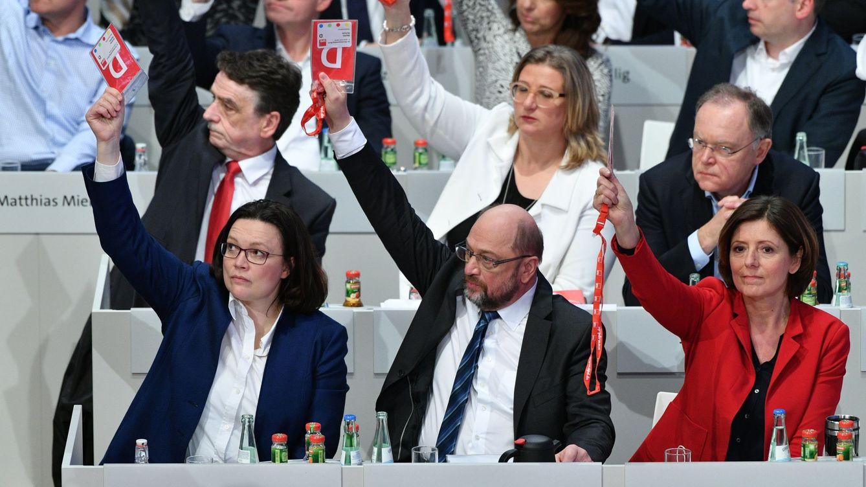 El SPD dice sí a Merkel para resolver una encrucijada sin salidas favorables