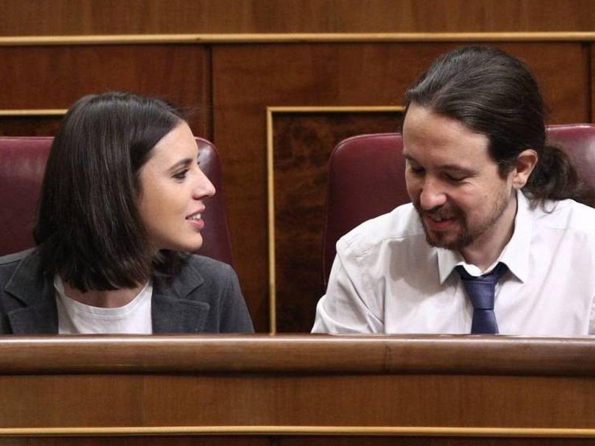 Foto:  Iglesias y Montero, en una foto de archivo. (Cordon Press)