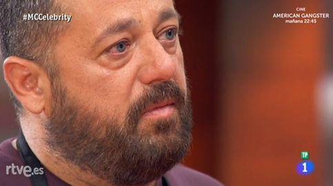 'MasterChef Celebrity': Pepón Nieto cae derrotado en la noche de los besos