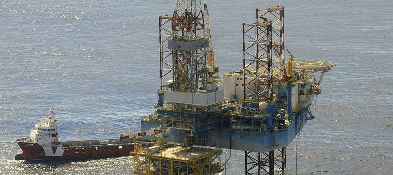 Foto: Plataforma del almacén subterráneo de gas natural del Proyecto Castor (EFE)