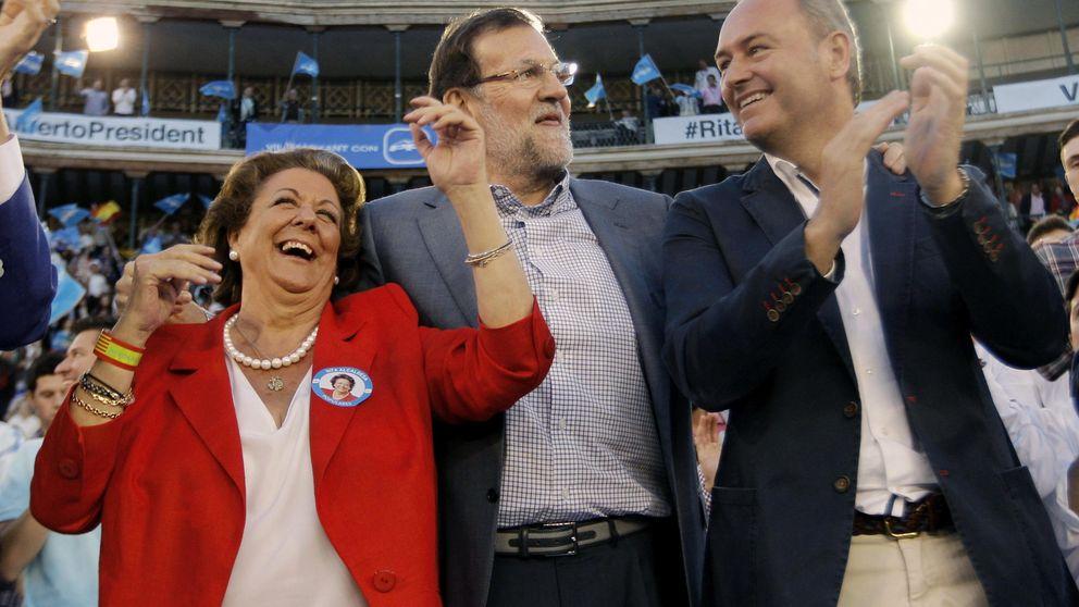 El TSJCV tramita una denuncia contra Rita Barberá por mantener simbolos franquistas