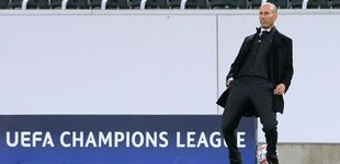 Post de Zidane no cree en los milagros y perdona el mal juego del equipo si hay carácter