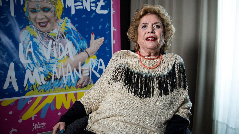 La cantante María Jiménez, en una de sus últimas entrevistas. (EFE)
