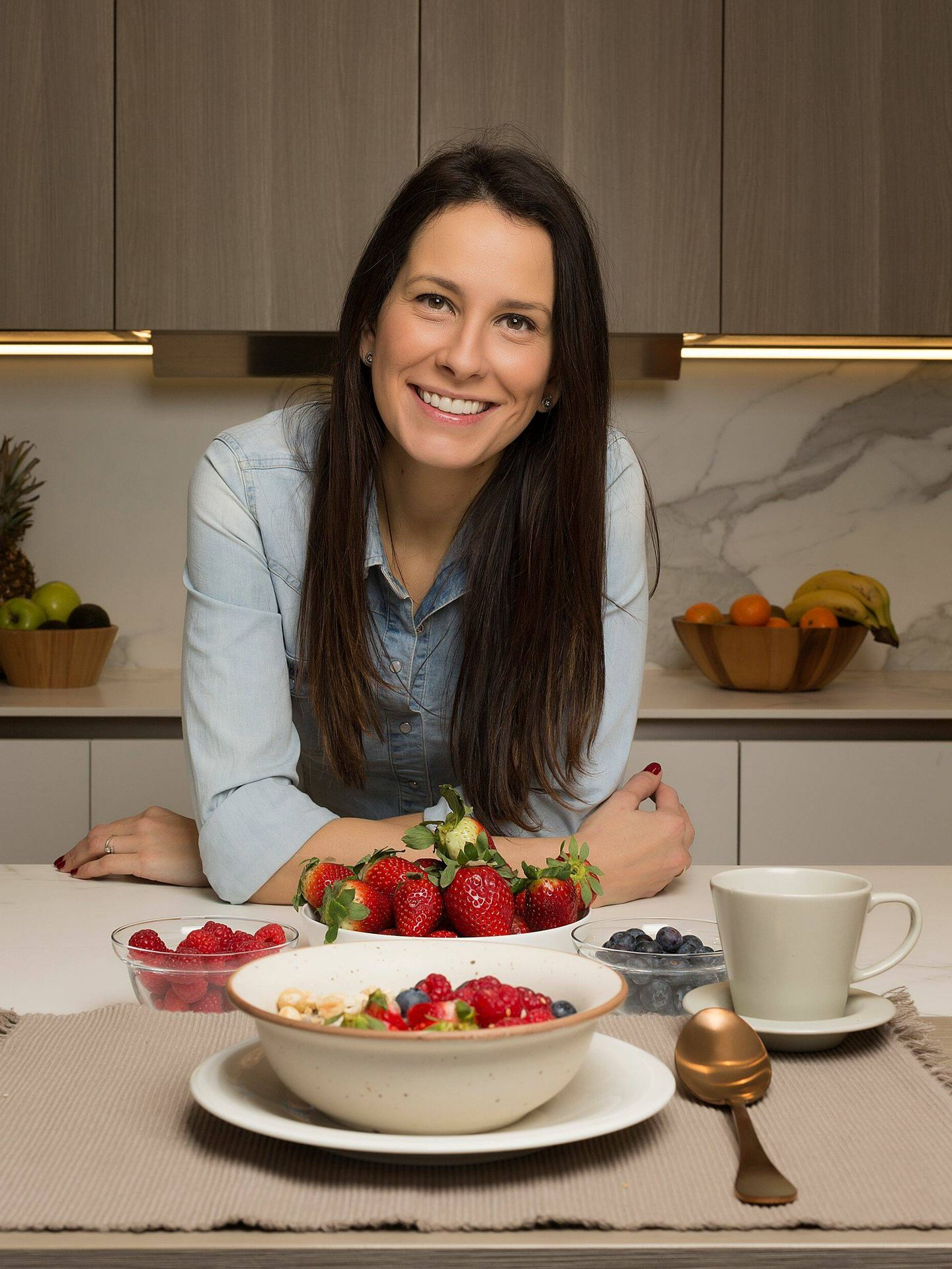 Celia García hace una clara apuesta por una alimentación saludable. Su perfil de IG es @thefitbowl. (Cortesía)