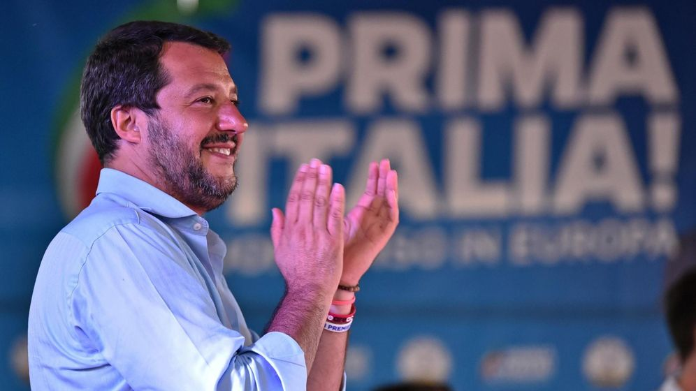 Foto: El vice primer ministro italiano, Matteo Salvini. (EFE))