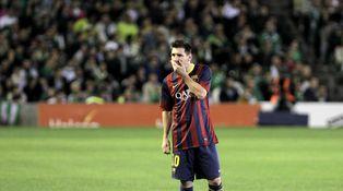 Messi, el mejor futbolista del mundo, resulta que solo es un ser humano de carne y hueso