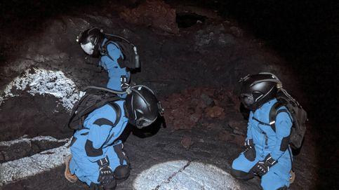 Los científicos que viven en un volcán para diseñar los trajes espaciales de Marte