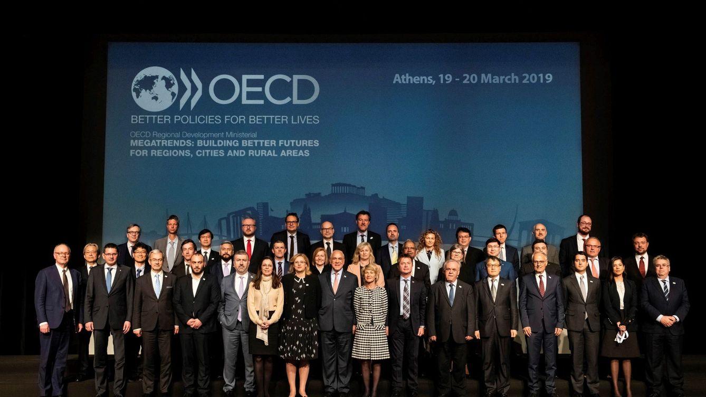 Los países de la OCDE pactan un tipo mínimo global del 15% para las multinacionales