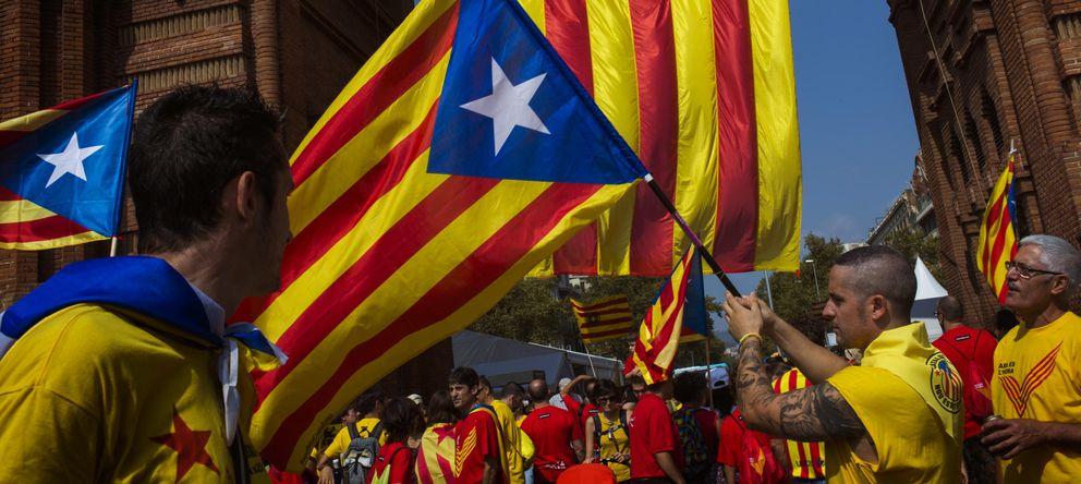 Foto: El independentismo frente al espejo