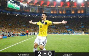 James se erige en figura mundial y su Colombia ya reta la anfitriona