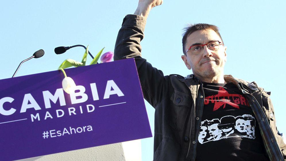 Foto: El exdirigente de Podemos, Juan Carlos Monedero. (EFE)