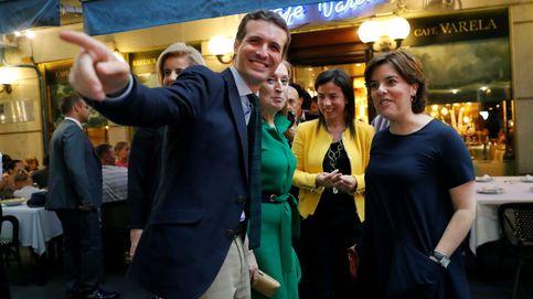 Soraya y Casado se atribuyen una victoria clara para arrastrar a los indecisos