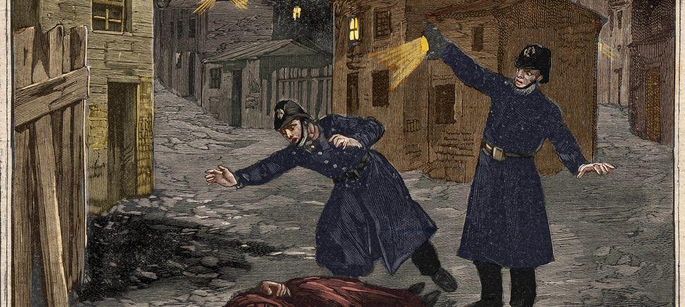 Foto: La policía de Scotland Yard descubre el cadáver de Mary Jane Kelly, la última víctima de Jack el Destripador. (Corbis)