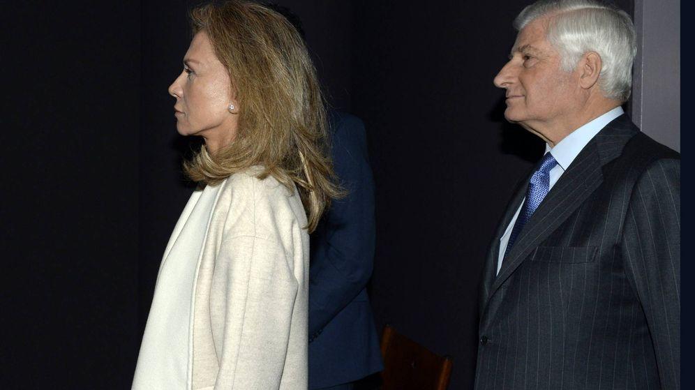 Foto:  Alicia Koplowitz y el duque de Alba, en una imagen de archivo. (Cordon Press)