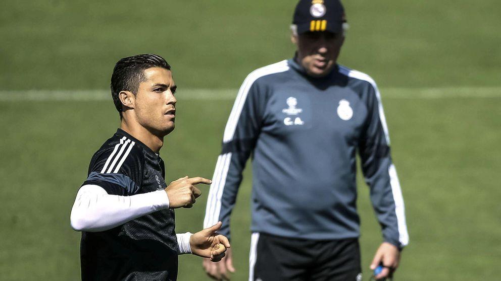 La negativa de Cristiano a jugar de '9', primera movida a resolver por Benítez