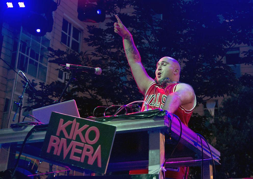 Foto: Kiko Rivera en las fiestas del Orgullo Gay en Madrid el pasado mes de julio. (I.C.)