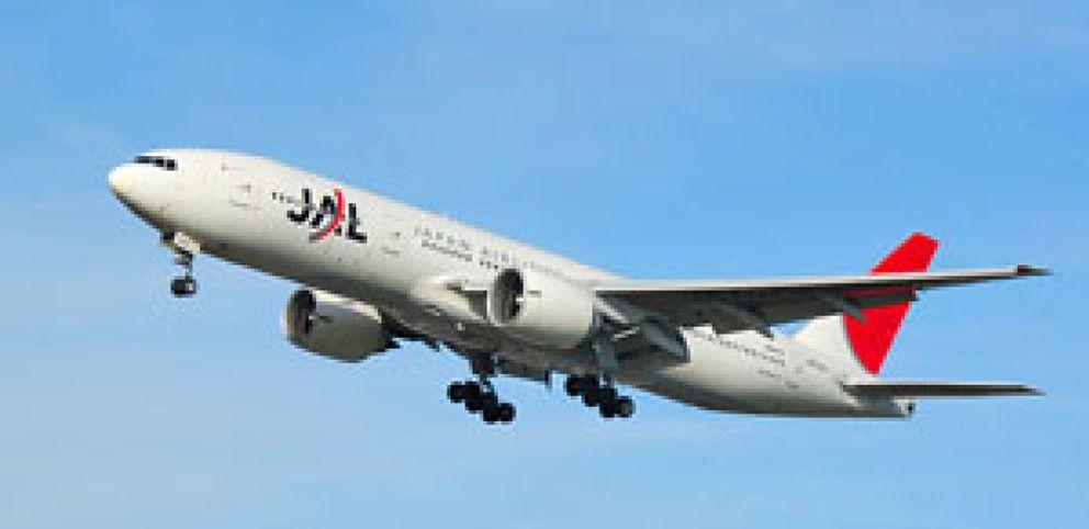 Japan Airlines se desploma un 45% ante la proximidad de su bancarrota