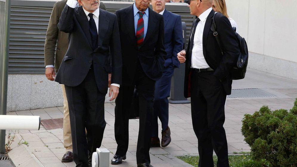 Foto: Jaime Botín, a su llegada al juicio. (EFE)