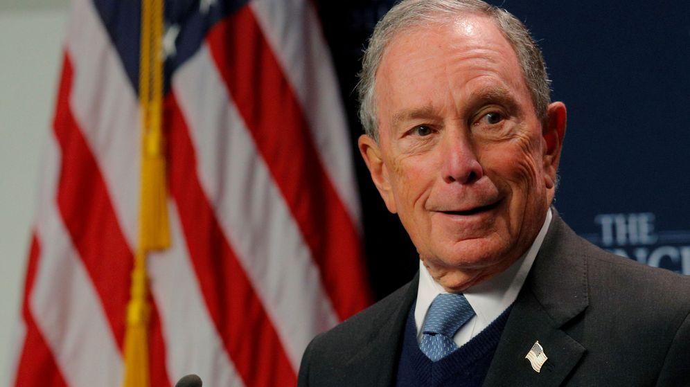 Foto: El magnate de los medios y exalcalde de Nueva York, Michael Bloomberg. (Reuters)