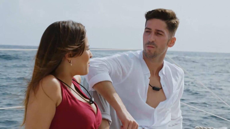 Marta y Lester, en 'La isla de las tentaciones 2'. (Mediaset)