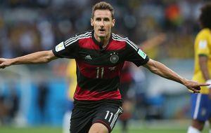 Klose, el 'bombardero' que llegó de Polonia para ser un héroe alemán