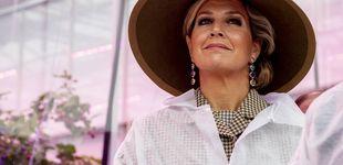 Post de En bata y con sombrero: Máxima de Holanda nunca pierde el estilo