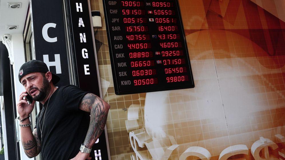 Foto: Oficina de cambio de divisas en Estambul (Efe)