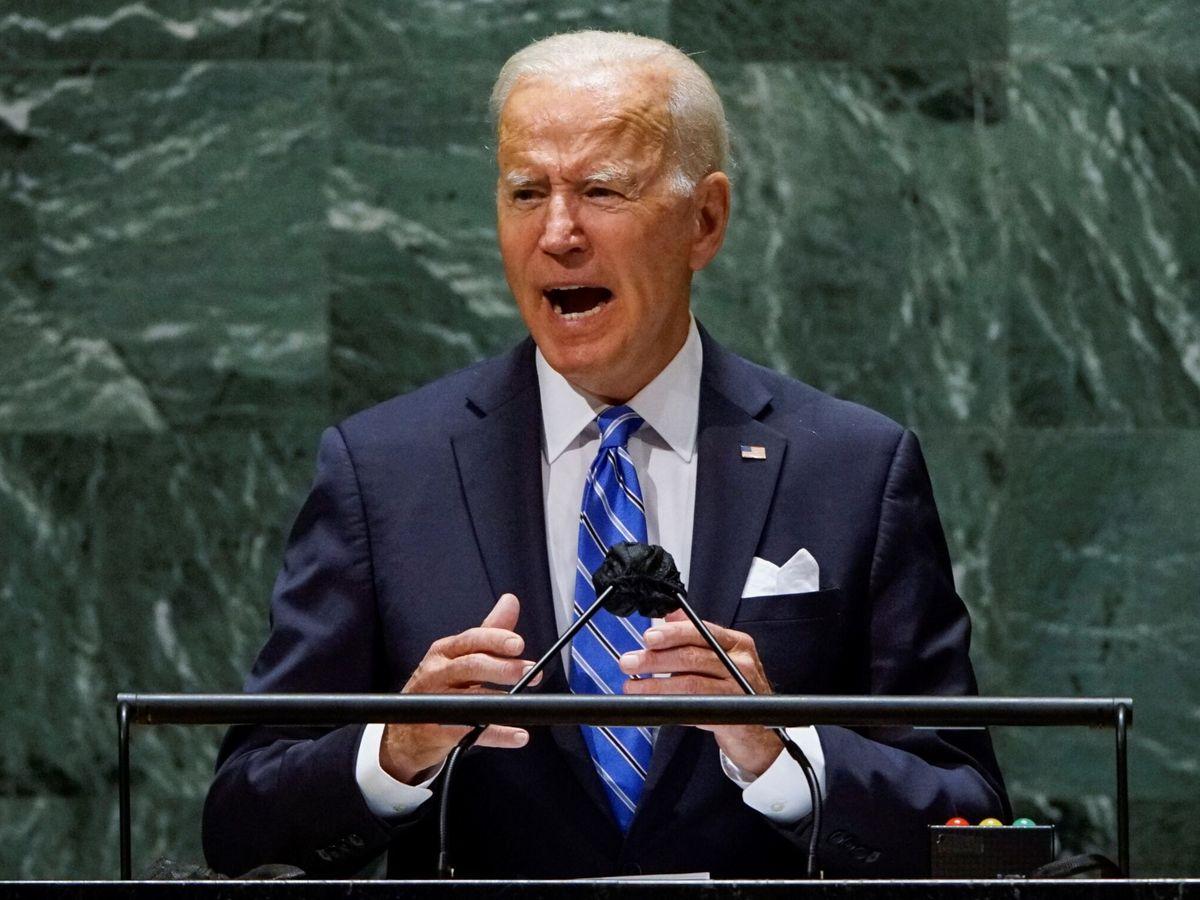Foto: Joe Biden, durante la Asamblea de Naciones Unidas. (EFE)