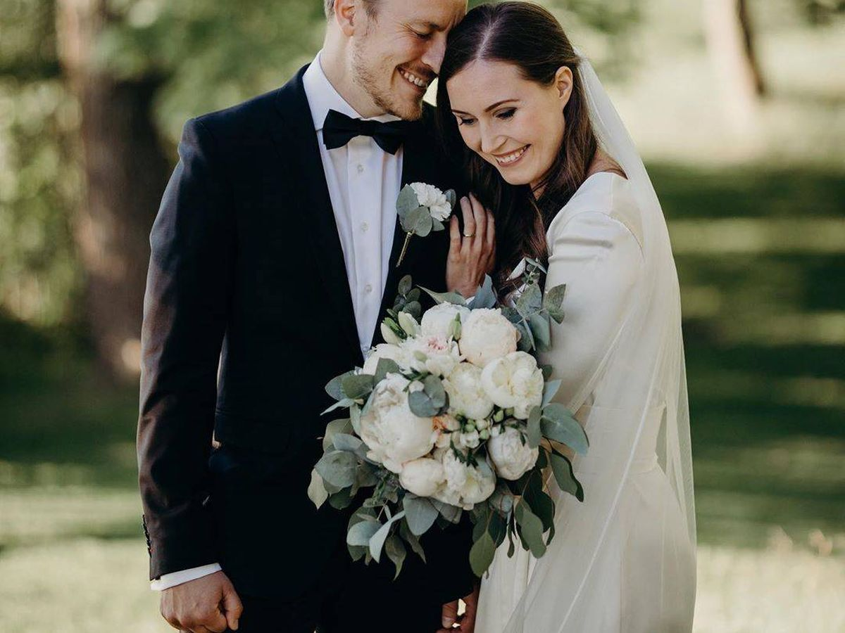 Foto: Foto de la boda de Sanna Marin. (Redes)