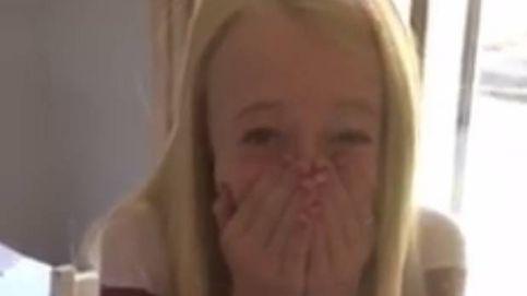 Incontrolable alegría de una niña al saber que iba a ser trasplantada del corazón
