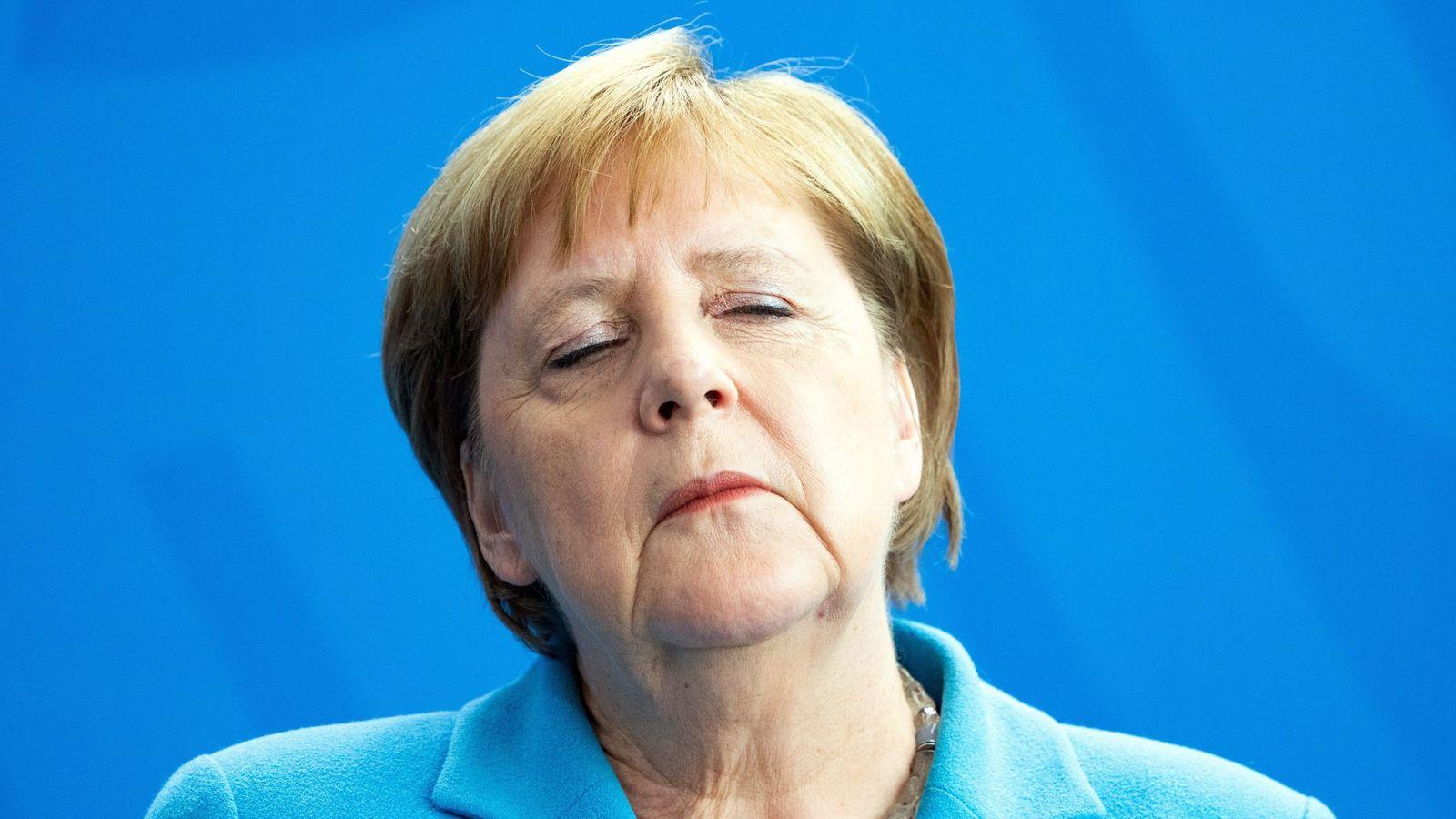Foto: Ángela Merkel. (EFE)