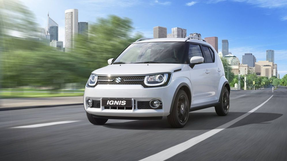 suzuki ignis el todocamino m s peque o noticias de motor. Black Bedroom Furniture Sets. Home Design Ideas