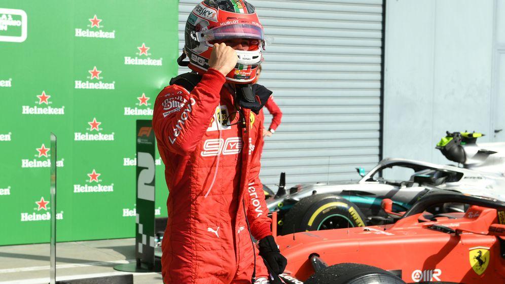 Foto: Charles Leclerc es el nuevo héroe de Ferrari. (Reuters)