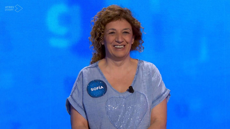 Sofía, en 'Pasapalabra'. (Antena 3)