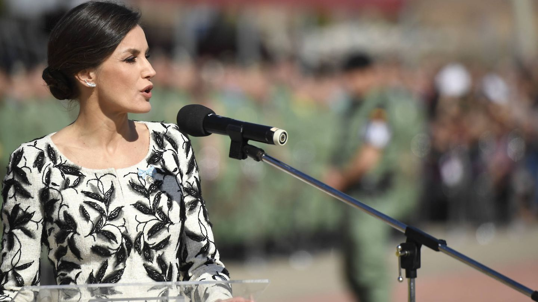 La Reina, durante el discurso. (Limited Pictures)