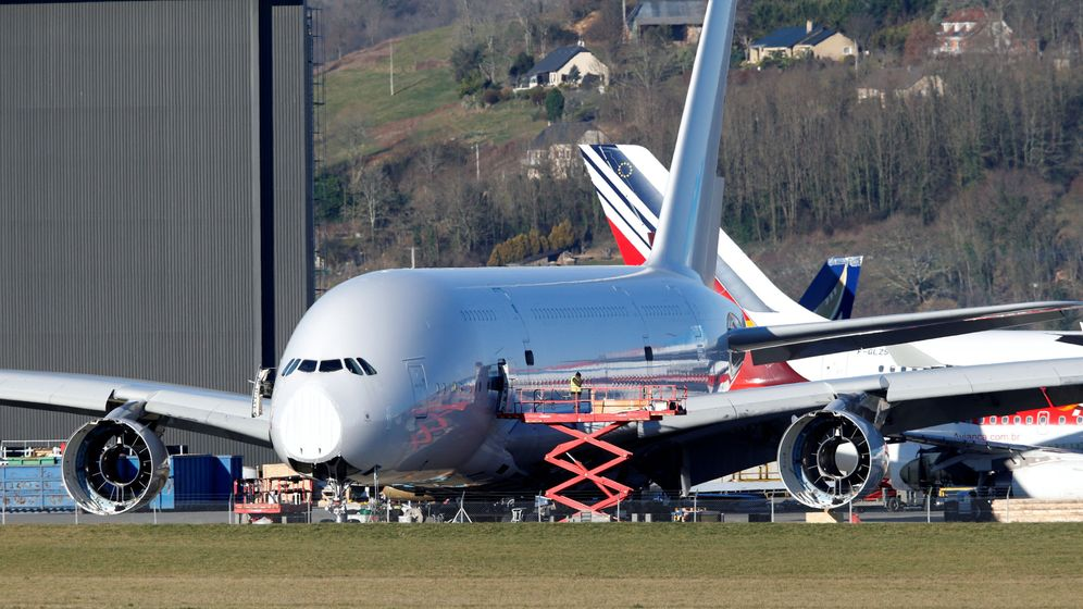 Foto: Un A380 Airbus superjumbo. (Reuters)