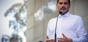 Post de Iker Casillas se moja ante la agresión a la periodista de Telecinco en el 1-0