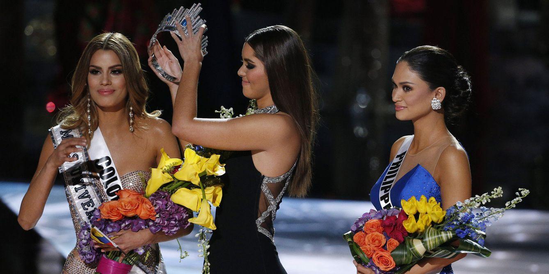 Foto: Twitter – El lapsus en Miss Universo que dejó a Colombia sin corona contado en memes