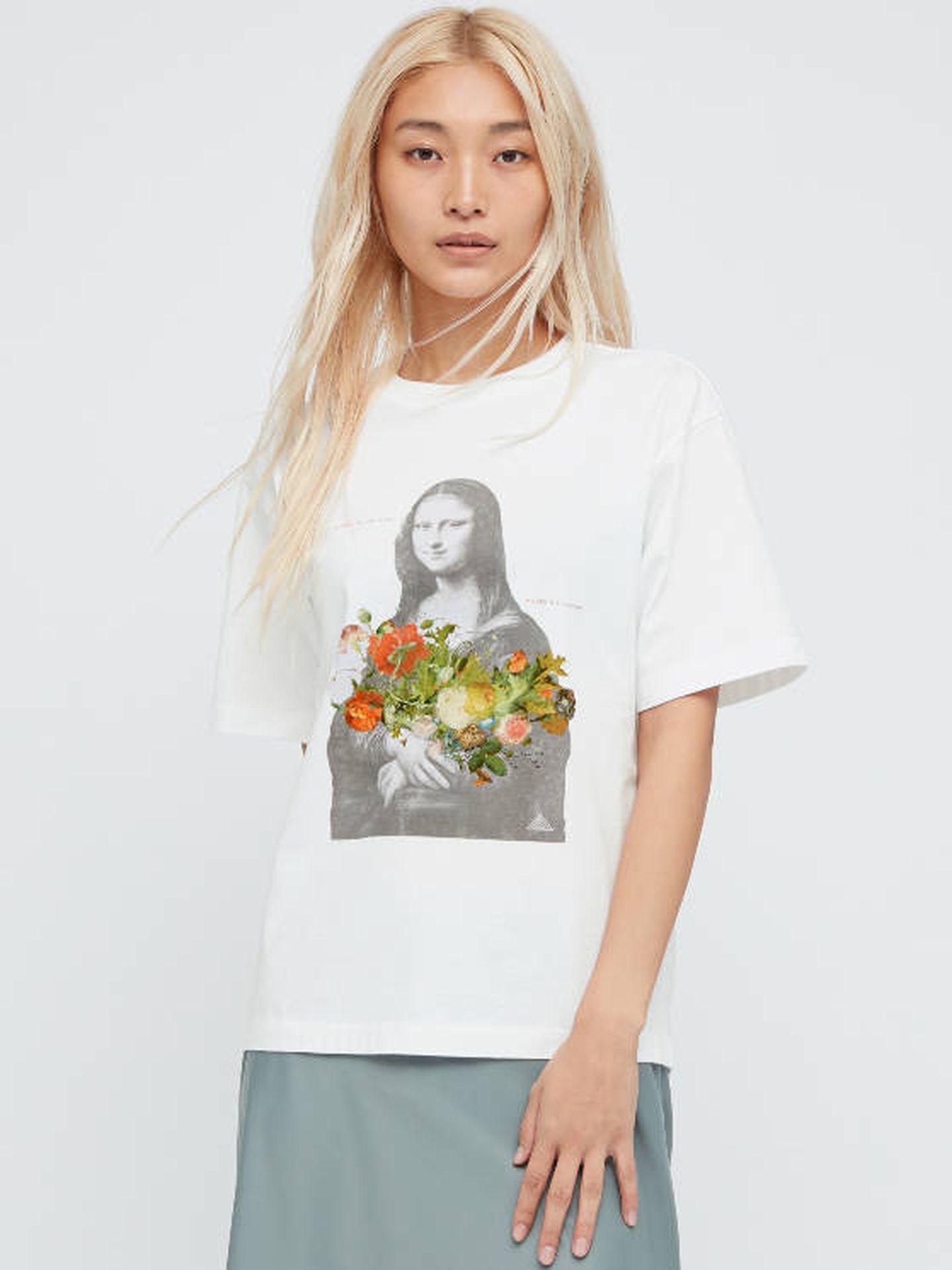Una camiseta de la colección Louvre x Uniqlo. (Cortesía)