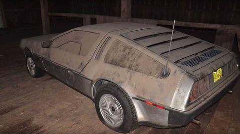 ¡Regreso al presente! Hallan en un granero un DeLorean abandonado hace 32 años