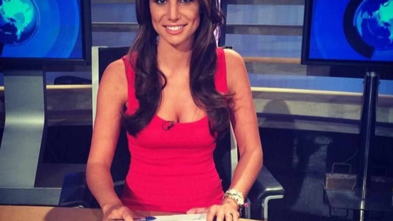 Foto: La periodista Lucía Villalón, en una imagen de su perfil de Twitter