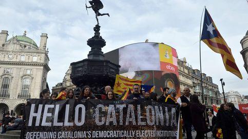 Los independentistas catalanes aprovechan Gibraltar para redoblar su campaña en UK