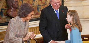 Post de Don Juan Carlos, en su faceta de abuelo: su complicada relación con Leonor y Sofía