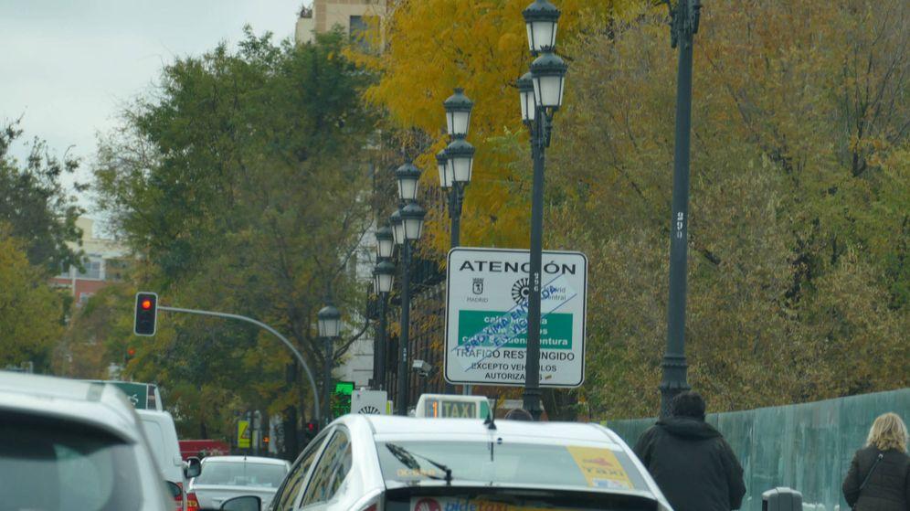 Foto: Las ciudades están poniendo en marcha zonas de bajas emisiones, como en el caso de Madrid Central.